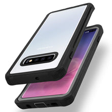 Load image into Gallery viewer, AICase Galaxy S10 Transparent Rugged Heavy Duty Bumper Armor Case,Military Grade Drop Tested,Shock-Absorption