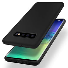 Load image into Gallery viewer, Galaxy S10/S10+/S10e Slim Thin Excellent Grip Scratch Resistant Slim Luxury TPU Rubber Soft Silky Smooth Gel Silicone Protective Cover