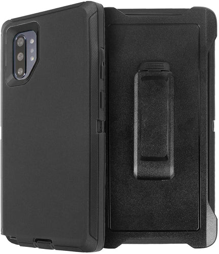 AICase Galaxy Note 10 Belt-Clip Holster Full Body Rugged Heavy Duty Shock/Drop/Dust Proof 4-Layer Protection Case