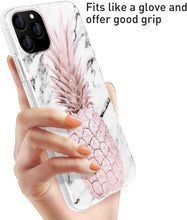 Load image into Gallery viewer, AICase Pineapple and Marble Pattern Cute Case for Girls Women