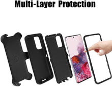 Load image into Gallery viewer, AICase Belt-Clip Holster Drop Protection Full Body Rugged Heavy Duty Case for Samsung Galaxy S20