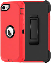 Load image into Gallery viewer, AICase Belt-Clip Holster Drop Protection Full Body Rugged Heavy Duty Case for iPhone SE 2020