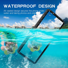 Load image into Gallery viewer, IP68 Certified Waterproof Shockproof Drop Protection Underwater Clear Protective Case for Samsung Galaxy Note20 Ultra