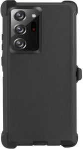 AICase Drop Protection Full Body Rugged Heavy Duty Case for Samsung Galaxy Note 20 with Belt Clip