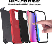 Load image into Gallery viewer, AICase Drop Protection Rugged Heavy Duty Case for iPhone 12