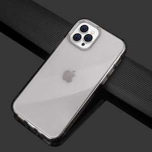 iPhone 12 Mini Clear Slim Back Shockproof Armor Soft Case Cover