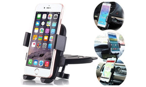 CD Slot Car Stereo Smart Phone Mount Holder