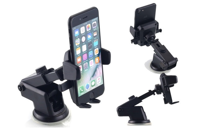 360° Universal Car Windshield Dash Mount Holder for Cell Phone or GPS