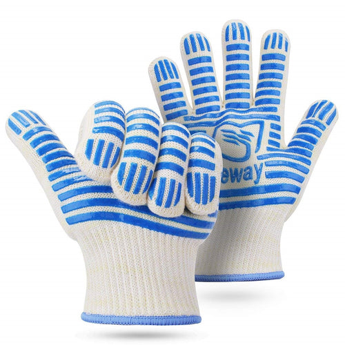AICase Heat Heat Resistant Oven BBQ Kitchen Gloves