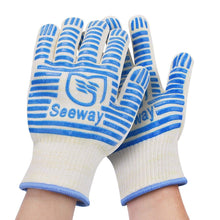 Load image into Gallery viewer, AICase Heat Heat Resistant Oven BBQ Kitchen Gloves