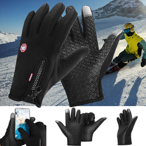 2-Tip Winter Waterproof Touch Screen Gloves