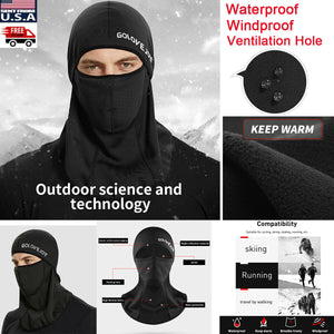 Mens Full Neck Face Mask Motorcycle Cycling Ski Balaclava Winter Sports Hat Cap