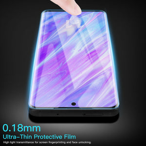 Samsung Galaxy S20 UV Glue Liquid Tempered Glass Screen Protector