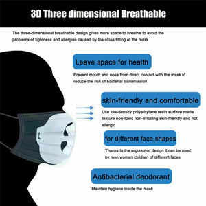 3D Face Mask Bracket Mouth Separate Inner Stand Holder Breathing Space