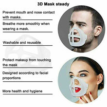 Load image into Gallery viewer, 3D Face Mask Bracket Mouth Separate Inner Stand Holder Breathing Space