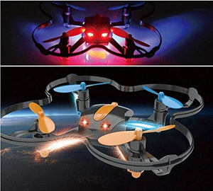 AICase Mini Drone 2.4Ghz 4CH 6-Axis Mini Nano RC Quadcopter with RTF Headless Mode LED UFO Airplanes Helicopter