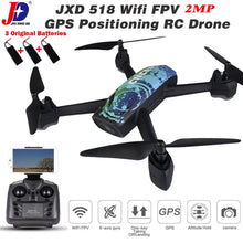 Load image into Gallery viewer, JXD 518 RC WIFI FPV Quadcopter GPS 720P HD Camera Realtime Headless Mode Drone