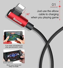 Load image into Gallery viewer, Baseus Lightning to USB Cable for iPhone iPad Black