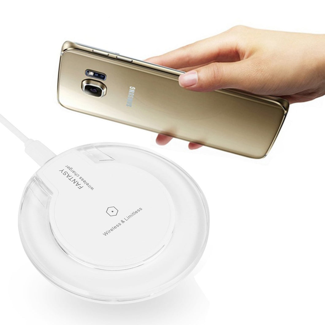 Ultra-Slim Qi Wireless Charging Pad for Samsung and iPhone