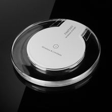 Load image into Gallery viewer, Ultra-Slim Qi Wireless Charging Pad for Samsung and iPhone