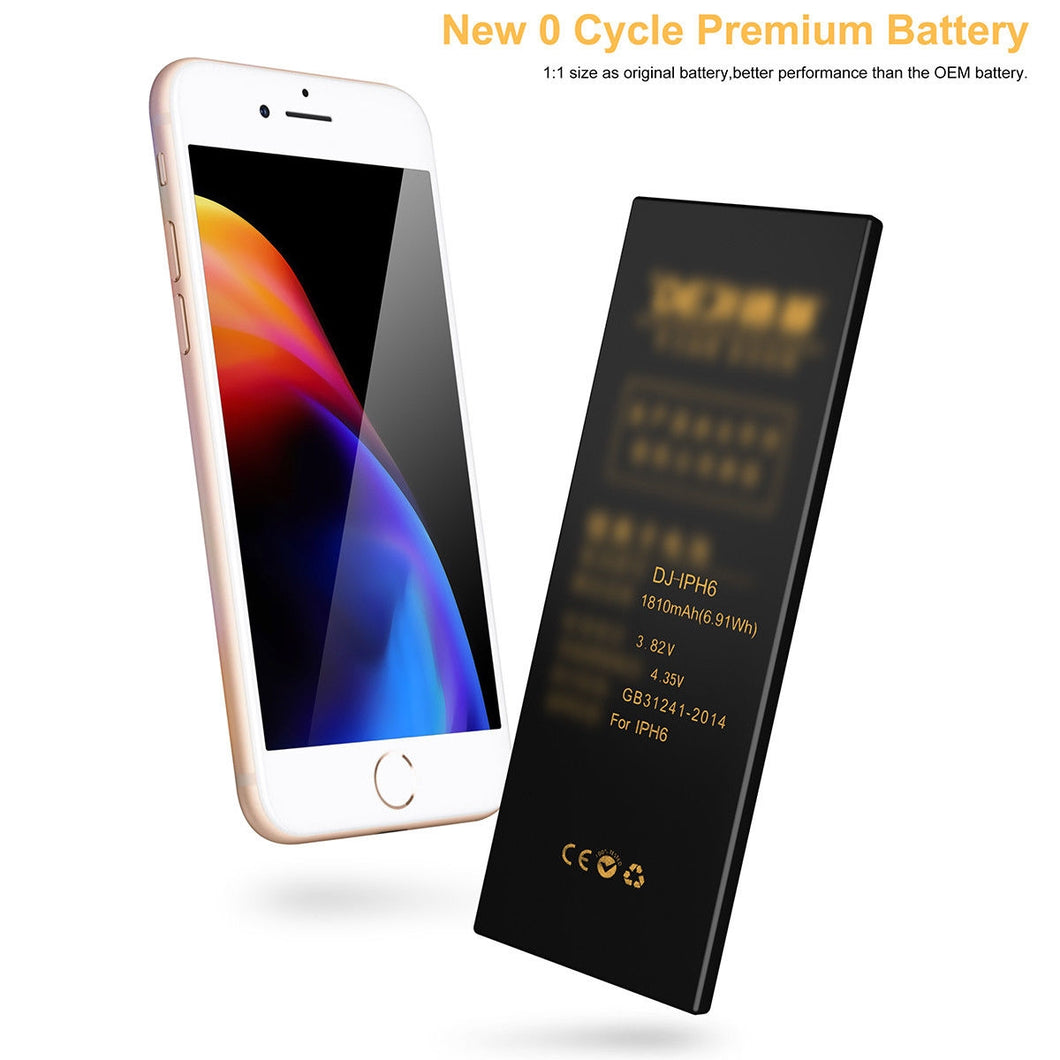 DEJI Internal Battery Replacement for iPhone 6+ Plus
