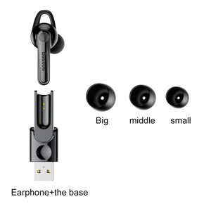 AICase Bluetooth Earphone,Magnetic Charging Wireless Earbuds Mini Earphone Sport Running Headset with Built-in Mic