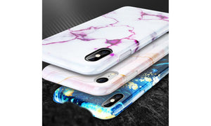 Marble Bloodstone Pattern Case Bright For iPhone 7/8/7 8 Plus/X/XS/XR/XS Max