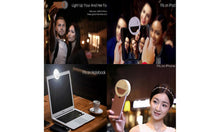 Load image into Gallery viewer, Brightness LED Selfie Ring Fill Light 3-Level For All Cell Phone Models