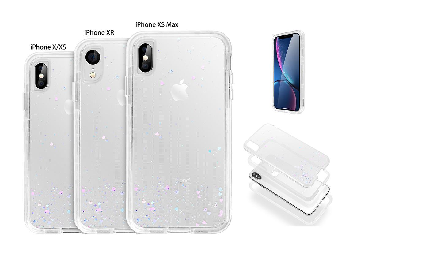 Case Shockproof Protective Case Cover For iPhone X XS XR XS Max