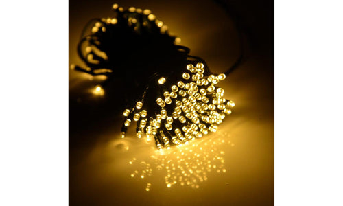 40Ft.String of 100 LED Solar-Powered Fairy Lights (1-,2-, or 3-Pack)