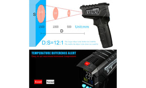 HANMER IR1 Infrared Temperature Gun Digital Non Contact Data retention