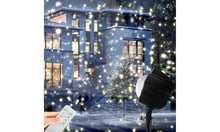 Load image into Gallery viewer, Christmas Holiday LED Snowflake Projector Light Outdoor with Remote