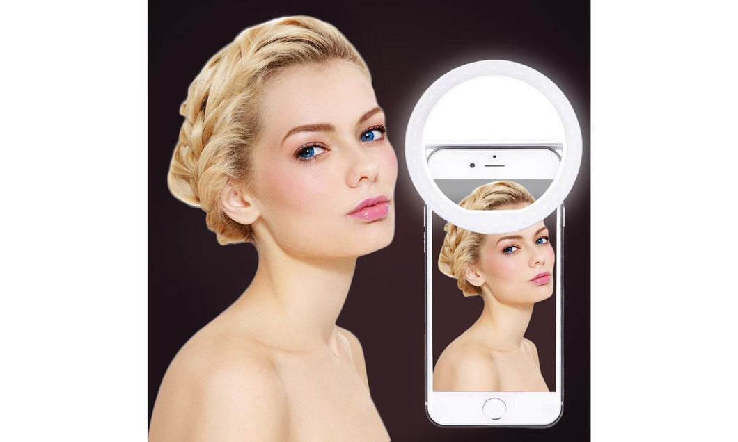 Brightness LED Selfie Ring Fill Light 3-Level For All Cell Phone Models