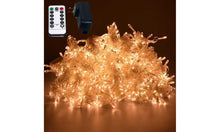 Load image into Gallery viewer, 10Ft. 300-LED String Curtain Lights with Remote Control