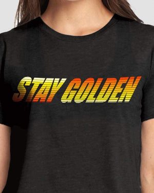 Horizon Crop Top - Stay Golden Clothing