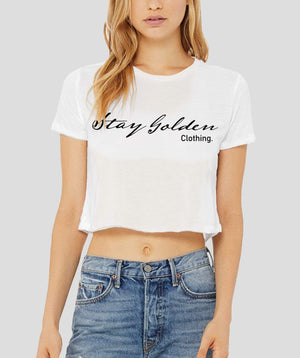 Simple Crop Top - Stay Golden Clothing
