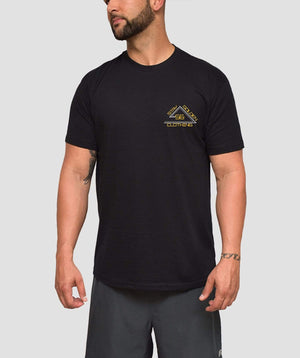 Angle Fitted T-Shirt - Stay Golden Clothing