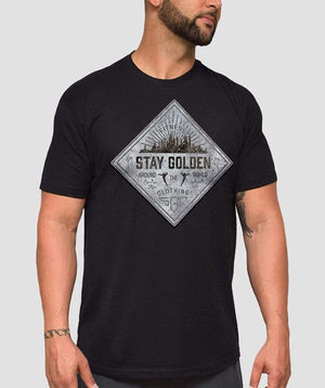 Crew Fitted T-Shirt - Stay Golden Clothing