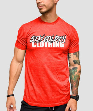 Hardcore Fitted T-Shirt - Stay Golden Clothing