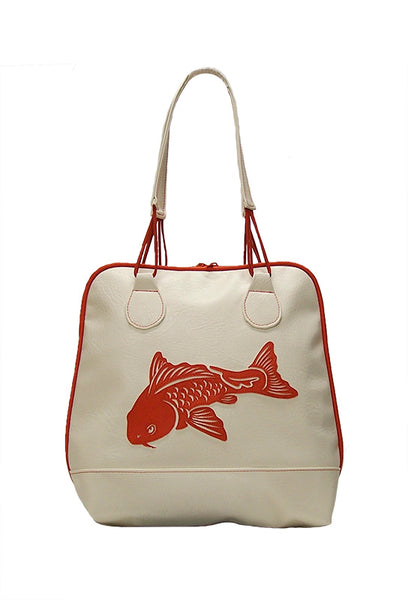 Bowling Bag with Koi Fish