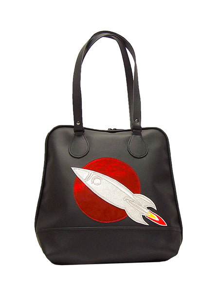 Bowling Bag with Rocket Ship