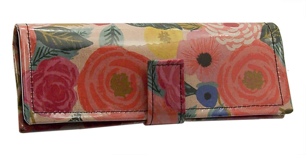 wallet clutch, rose