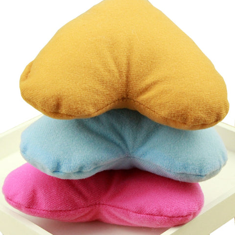 DogStory Cute Colorful Love Heart Shaped Pillow