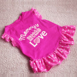 Mommy Little Love Princess Dress