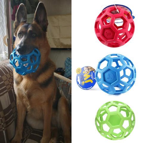 JW Geometric Non-Toxic Rubber Chew Toy