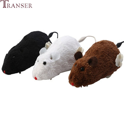 Transer Clockwork Moving Mice Dog & Cat Toy