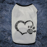 MYCHIY My Heart Paw Print Lovely Shirt