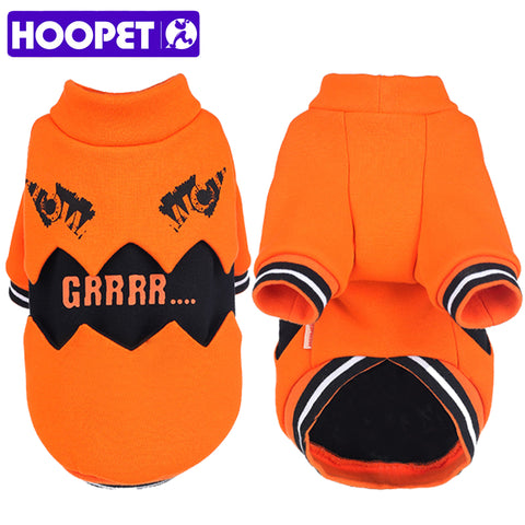 HOOPET Pet Dog Orange Winter Coat