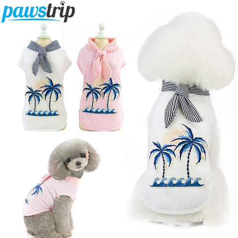 PawStrip 2019 New Palm Trees Summer Dress