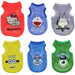 DogBaby 2019 New Hello Kitty & Friends Spring Summer Vest